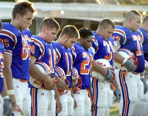 High School Football, Christians and an Atheist